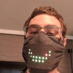 Light-up LED mask that protect your skin.
