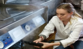 Steam Cleaner Conveyor Belts for the Food Industry